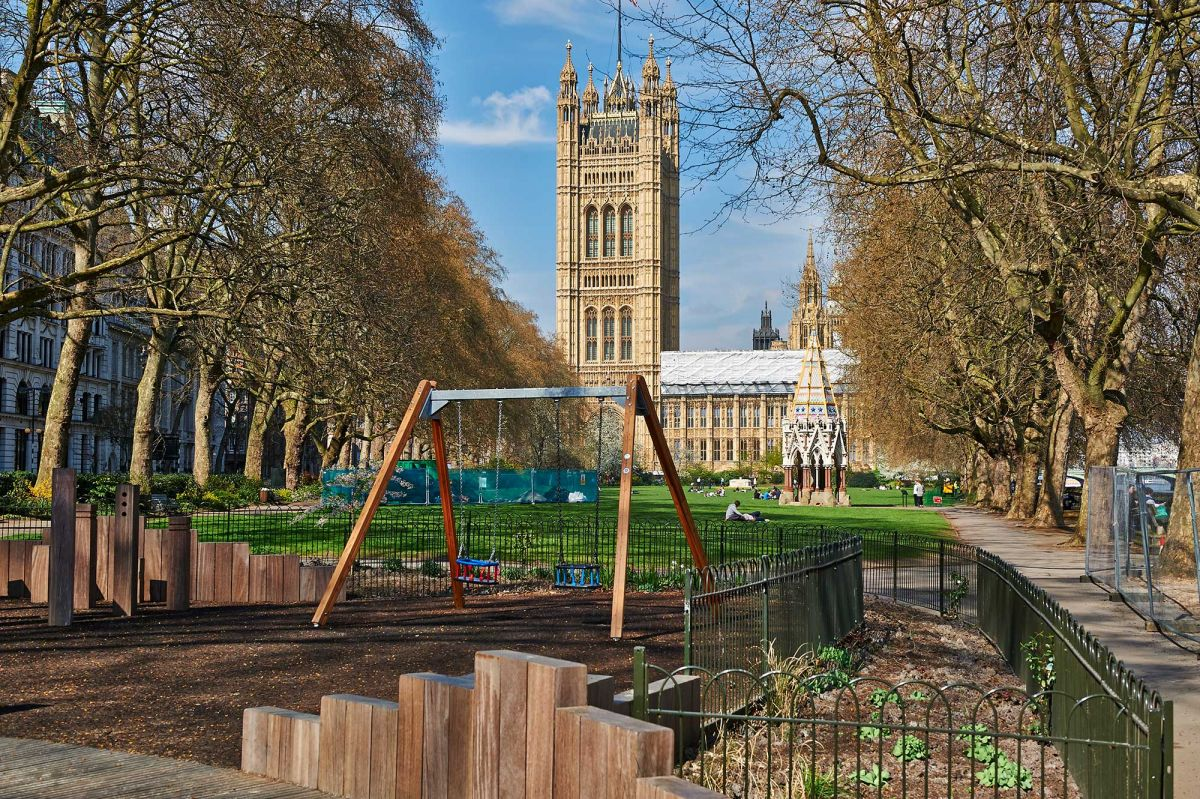 Victoria Tower Gardens (Royal Park) London, UK - Contact Directory UK