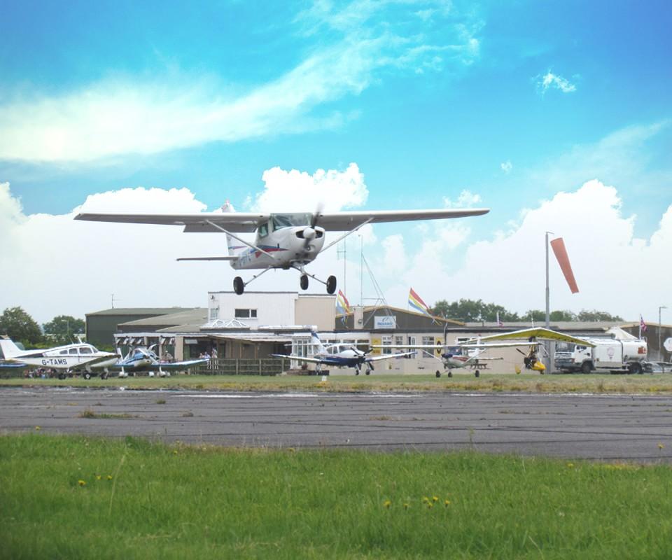 Dunkeswell Aerodrome Airport In Honiton, Devon, UK